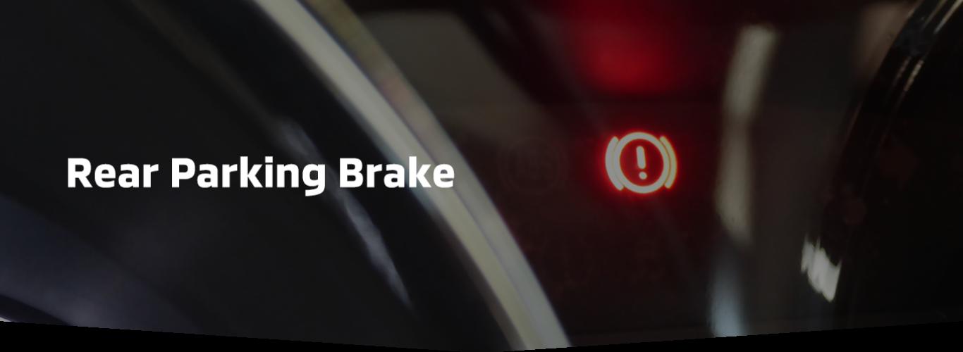 Rear Parking Brake